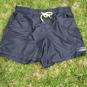 Black Nylon Short Large